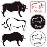 Bull. Vector illustration (EPS 10) royalty free illustration