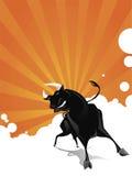 Bull-Vektor Lizenzfreie Stockbilder