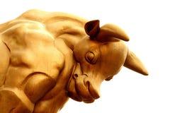 Bull-Wirtschaftlichkeit Lizenzfreies Stockfoto