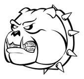 Bulldog angry. Illustrator desain .eps 10 Stock Images