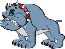 Bulldog cartoon Royalty Free Stock Image
