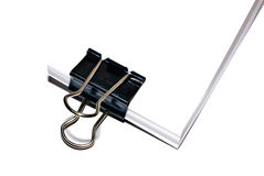 bulldog clip fotografia stock