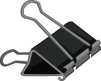 Bulldog clip Royalty Free Stock Images