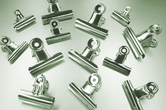 Bulldog Clips Royalty Free Stock Photo