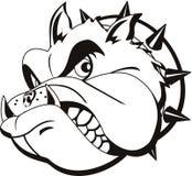Bulldog del tatuaggio Fotografie Stock Libere da Diritti