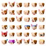Bulldog Dog Emoji Emoticon Expression Royalty Free Stock Image