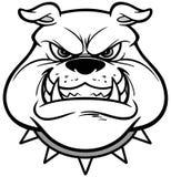 Bulldog Growl Illustration Royalty Free Stock Images