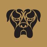 Bulldog logo vector Stock Image