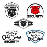 Bulldog logo vector illustration Royalty Free Stock Photo