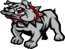 Bulldog Mascot Body Illustration. Graphic Mascot Image of a Bulldog Body