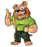 Bulldog Mascot. Handsome Bulldog Mascot For Promotion Stock Photography