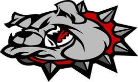 Bulldog Mascot Head Vector Illustration Royalty Free Stock Images