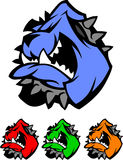 Bulldog Mascot Vector Logos Stock Photo