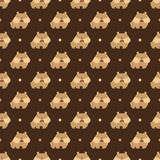Bulldog pattern Stock Images