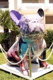 Bulldog sculpture Stock Photos