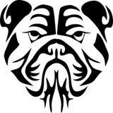 Bulldoggen-Kopf Stockfotos