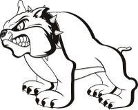 bulldoggvektor Arkivbilder