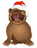 bulldogs święta ilustracja wektor