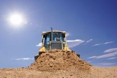 bulldozeröken Royaltyfria Bilder