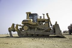 Bulldozer 1 Stock Photos