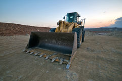 Bulldozer Fotografia Stock