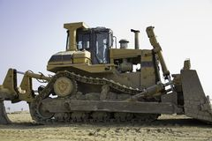Bulldozer 2 Stock Image