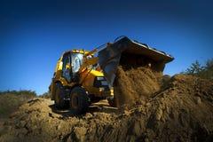 Bulldozer Stock Foto's