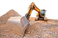 bulldozer royaltyfri foto