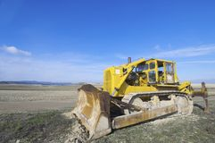 Bulldozer Royalty Free Stock Photography
