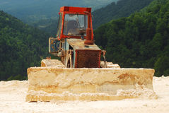 Bulldozer Stock Image