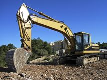 Bulldozer 3 stock photo