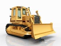 Bulldozer vector illustratie