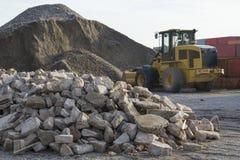 bulldozer Royaltyfri Fotografi