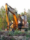 bulldozer Arkivfoton