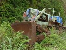 bulldozer Fotografering för Bildbyråer