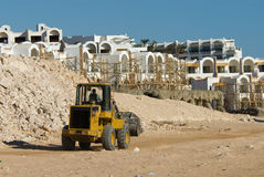 Bulldozer At Work Royalty Free Stock Photo