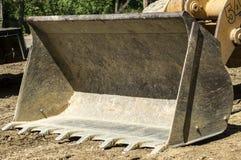 Bulldozer blade Stock Image