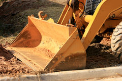 Bulldozer Bucket Royalty Free Stock Photos