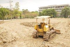 The bulldozer Stock Image