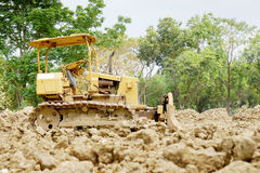The bulldozer Royalty Free Stock Photos