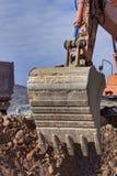Bulldozer,Bulldozer in the process Royalty Free Stock Photos