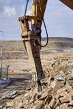 Bulldozer,Bulldozer in the process Royalty Free Stock Photo