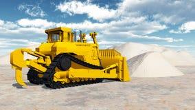 Bulldozer Royalty Free Stock Image