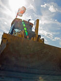 Bulldozer Construction Equipment Royalty Free Stock Images