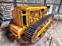 Bulldozer, Construction Equipment, Vehicle, Metal Stock Image