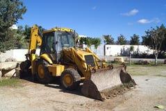 Bulldozer construction vehicle Royalty Free Stock Image
