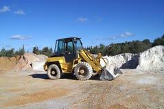 Bulldozer construction vehicle Stock Photos