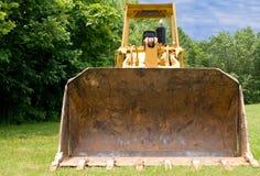 Bulldozer in countryside Royalty Free Stock Photo