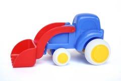 Bulldozer del giocattolo Fotografie Stock Libere da Diritti