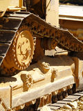 Bulldozer Detail 1 Royalty Free Stock Photos
